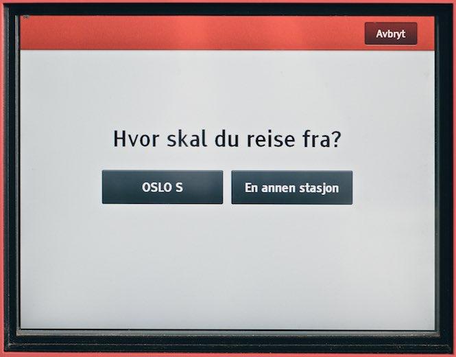 Kub bilet na pociąg po norwesku 2