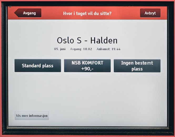 Kub bilet na pociąg po norwesku 8