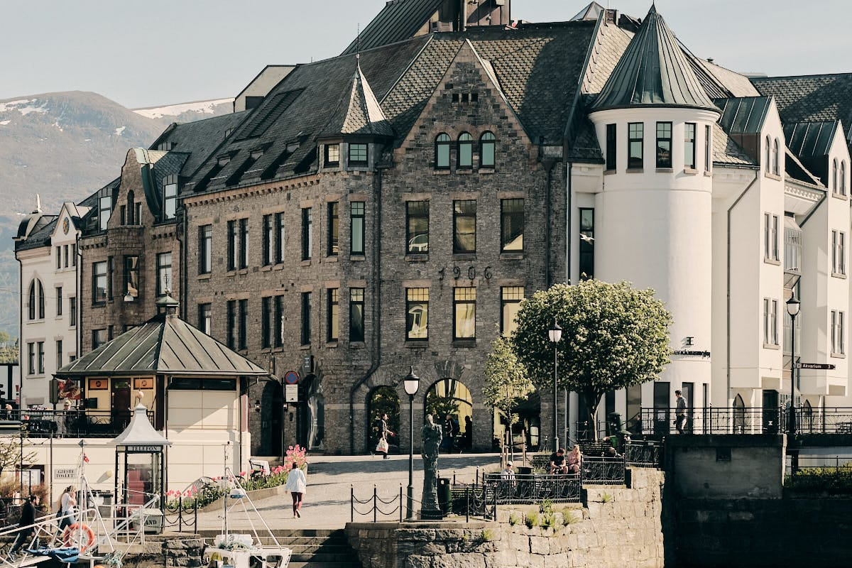 Centrum Ålesund