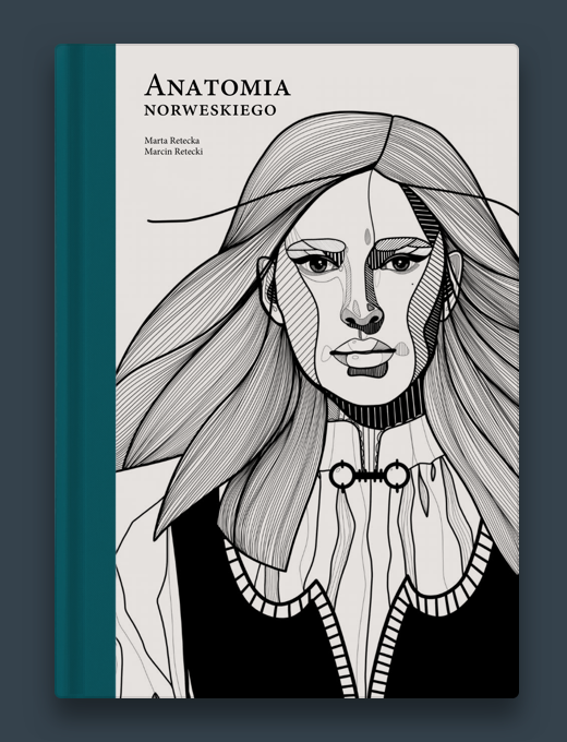 Anatomia norweskiego, okładka